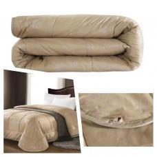 Одеяло шерсть верблюда двуспальное (200х220)