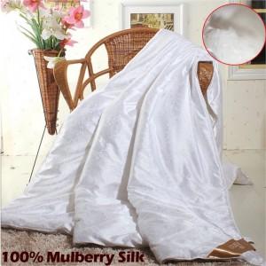 Одеяло шелк кнопка двуспальное(200х220)
