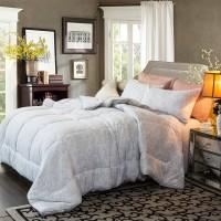 Одеяло бамбук c лавандой двуспальное (200х220)
