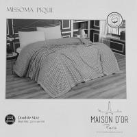 Плед - покрывала Maison Dor MISSOMA ANTRASIT (220x240)